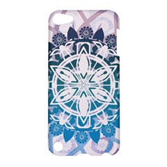 Mandalas Symmetry Meditation Round Apple Ipod Touch 5 Hardshell Case by BangZart