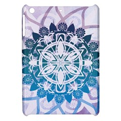 Mandalas Symmetry Meditation Round Apple Ipad Mini Hardshell Case by BangZart
