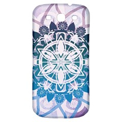 Mandalas Symmetry Meditation Round Samsung Galaxy S3 S Iii Classic Hardshell Back Case by BangZart
