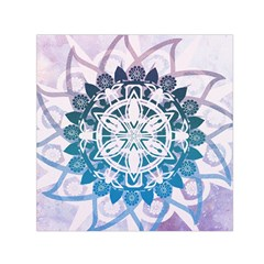 Mandalas Symmetry Meditation Round Small Satin Scarf (square) by BangZart