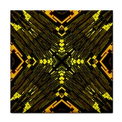 Abstract Glow Kaleidoscopic Light Face Towel by BangZart