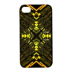 Abstract Glow Kaleidoscopic Light Apple Iphone 4/4s Hardshell Case With Stand by BangZart