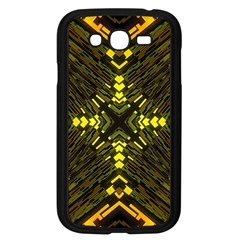 Abstract Glow Kaleidoscopic Light Samsung Galaxy Grand Duos I9082 Case (black) by BangZart