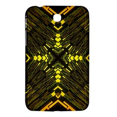 Abstract Glow Kaleidoscopic Light Samsung Galaxy Tab 3 (7 ) P3200 Hardshell Case  by BangZart