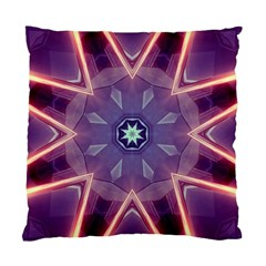 Abstract Glow Kaleidoscopic Light Standard Cushion Case (one Side) by BangZart