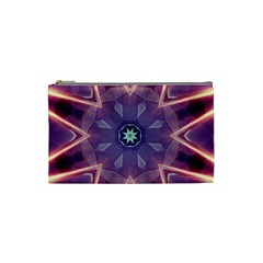 Abstract Glow Kaleidoscopic Light Cosmetic Bag (small)  by BangZart