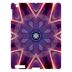 Abstract Glow Kaleidoscopic Light Apple Ipad 3/4 Hardshell Case