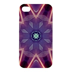 Abstract Glow Kaleidoscopic Light Apple Iphone 4/4s Premium Hardshell Case by BangZart