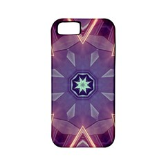 Abstract Glow Kaleidoscopic Light Apple Iphone 5 Classic Hardshell Case (pc+silicone) by BangZart