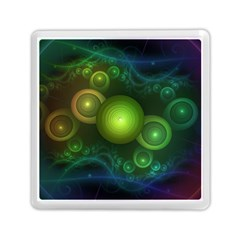 Retrotacular Rainbow Dots In A Fractal Microscope Memory Card Reader (square)  by jayaprime