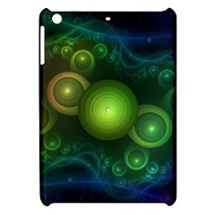 Retrotacular Rainbow Dots In A Fractal Microscope Apple Ipad Mini Hardshell Case by jayaprime