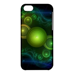 Retrotacular Rainbow Dots In A Fractal Microscope Apple Iphone 5c Hardshell Case by jayaprime