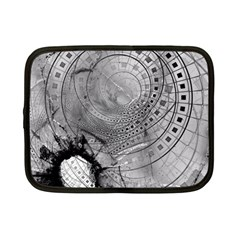 Fragmented Fractal Memories And Gunpowder Glass Netbook Case (small)