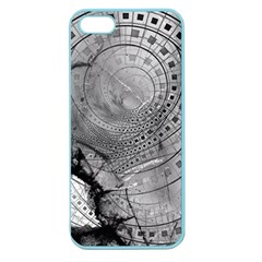 Fragmented Fractal Memories And Gunpowder Glass Apple Seamless Iphone 5 Case (color) by jayaprime