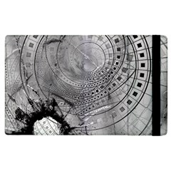 Fragmented Fractal Memories And Gunpowder Glass Apple Ipad 3/4 Flip Case by jayaprime