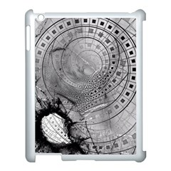 Fragmented Fractal Memories And Gunpowder Glass Apple Ipad 3/4 Case (white) by jayaprime