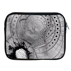 Fragmented Fractal Memories And Gunpowder Glass Apple Ipad 2/3/4 Zipper Cases by jayaprime
