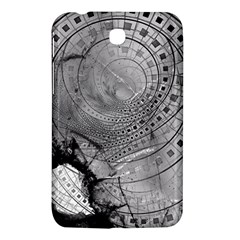 Fragmented Fractal Memories And Gunpowder Glass Samsung Galaxy Tab 3 (7 ) P3200 Hardshell Case  by jayaprime