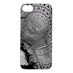 Fragmented Fractal Memories And Gunpowder Glass Apple Iphone 5s/ Se Hardshell Case by jayaprime