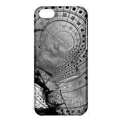 Fragmented Fractal Memories And Gunpowder Glass Apple Iphone 5c Hardshell Case by jayaprime