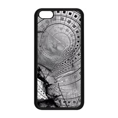 Fragmented Fractal Memories And Gunpowder Glass Apple Iphone 5c Seamless Case (black)