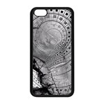 Fragmented Fractal Memories and Gunpowder Glass Apple iPhone 5C Seamless Case (Black) Front