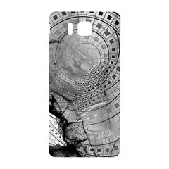Fragmented Fractal Memories And Gunpowder Glass Samsung Galaxy Alpha Hardshell Back Case by jayaprime