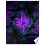 Beautiful Ultraviolet Lilac Orchid Fractal Flowers Canvas 36  x 48   48 x36 Canvas - 1