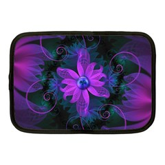 Beautiful Ultraviolet Lilac Orchid Fractal Flowers Netbook Case (medium)  by jayaprime