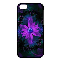 Beautiful Ultraviolet Lilac Orchid Fractal Flowers Apple Iphone 5c Hardshell Case by jayaprime