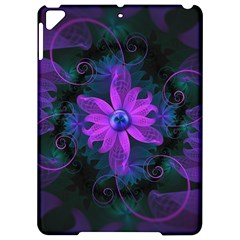 Beautiful Ultraviolet Lilac Orchid Fractal Flowers Apple Ipad Pro 9 7   Hardshell Case by jayaprime