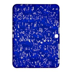 Glossy Abstract Blue Samsung Galaxy Tab 4 (10 1 ) Hardshell Case  by MoreColorsinLife
