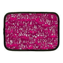 Glossy Abstract Pink Netbook Case (medium)  by MoreColorsinLife