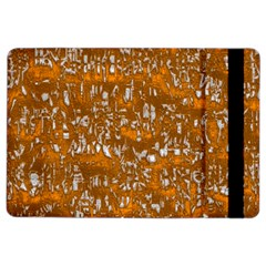 Glossy Abstract Orange Ipad Air 2 Flip by MoreColorsinLife