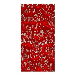 Glossy Abstract Red Shower Curtain 36  X 72  (stall)  by MoreColorsinLife
