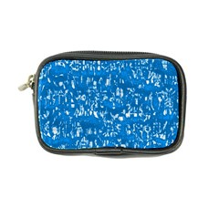 Glossy Abstract Teal Coin Purse by MoreColorsinLife