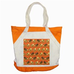 Birds Pattern Accent Tote Bag by linceazul