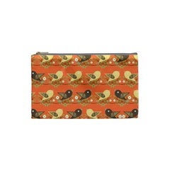 Birds Pattern Cosmetic Bag (small)  by linceazul