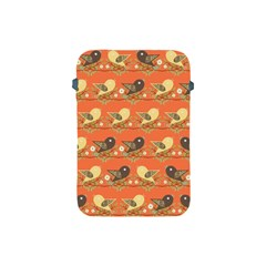 Birds Pattern Apple Ipad Mini Protective Soft Cases by linceazul
