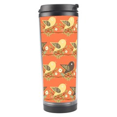 Birds Pattern Travel Tumbler by linceazul
