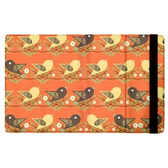 Birds Pattern Apple Ipad Pro 9 7   Flip Case by linceazul