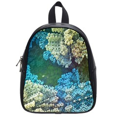 Fractal Formula Abstract Backdrop School Bags (small)  by BangZart