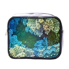 Fractal Formula Abstract Backdrop Mini Toiletries Bags by BangZart