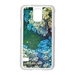 Fractal Formula Abstract Backdrop Samsung Galaxy S5 Case (white)
