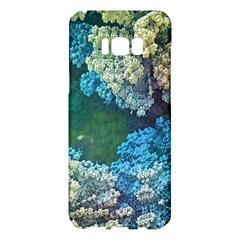 Fractal Formula Abstract Backdrop Samsung Galaxy S8 Plus Hardshell Case