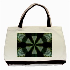 Lines Abstract Background Basic Tote Bag by BangZart