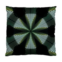 Lines Abstract Background Standard Cushion Case (one Side) by BangZart
