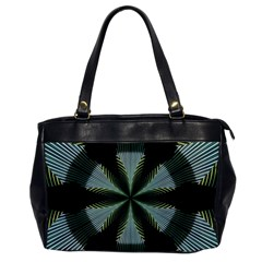 Lines Abstract Background Office Handbags by BangZart