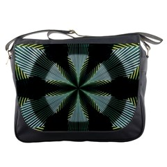 Lines Abstract Background Messenger Bags
