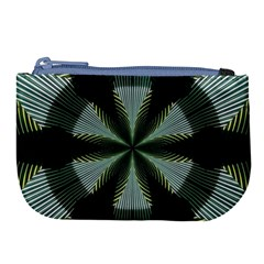 Lines Abstract Background Large Coin Purse by BangZart